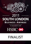 Finalist 'Best small Business South London'