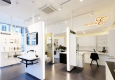 Commercial Shop Fit-out, Edwin's Bathrooms, Notting Hill, W11.