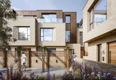 New Build Housing Development, Notting Hill, London, W10