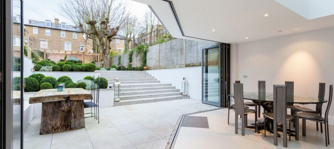 New Build with basement, Richmond TW10