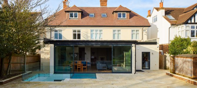 Domestic residential basement, Wimbledon