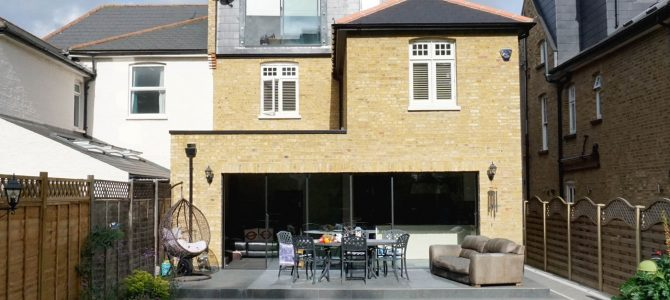 Residential Rear extension and loft conversion, South Park Road, Wimbledon, SW19